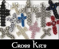 TheRingLord.com Chainmail Jump Rings jumprings Scalemail Jewelry Supplies and Wire - Chainmail Project Kits Tie