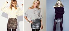 7 κομμάτια-κλειδιά που πρέπει να αγοράσεις φέτος στις εκπτώσεις Sequin Skirt, Sequins, Skirts, Fashion, Moda, Fashion Styles, Skirt, Fashion Illustrations