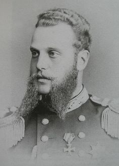 Grand Duke Alexei Alexandrovich of Russia (1850 – 1908) was the fifth child & the fourth son of Alexander II of Russia & his first wife Maria Alexandrovna (Marie of Hesse). Destined to a naval career, Alexei Alexandrovich started his military training at the age of 7. By the age of 20 he had been appointed lieutenant of the Russian Imperial Navy & had visited all European military ports of Russia. In 1871 he was sent as a goodwill ambassador to the United States & Japan.