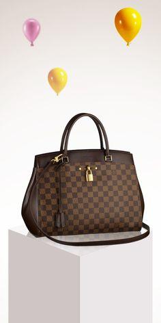 Is the Louis Vuitton Rivoli Handbag on your holiday wishlist this season?