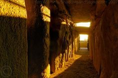 Newgrange Passage, Winter Solstice Morning