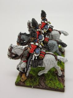 """Horse and Musket: The Dragoons """"Scots Greys"""", 1815 British Army Uniform, British Uniforms, British Soldier, 28mm Miniatures, Napoleonic Wars, American Revolution, Miniture Things, Figure Painting, History"""