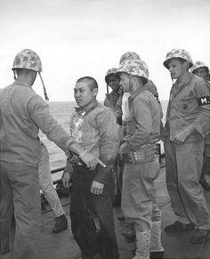 Japanese POW taken at Iwo Jima, Mar 1945