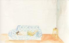 gaby - un des nombreux magnifiques dessins de François Olislaeger