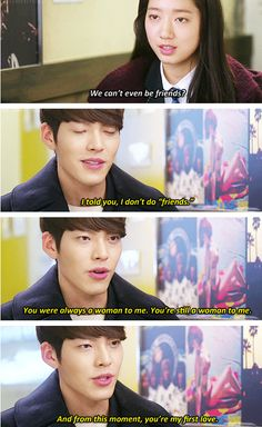 "Kim Woo Bin and Park Shin Hye ♡ #Kdrama - ""HEIRS"" / ""THE INHERITORS"""