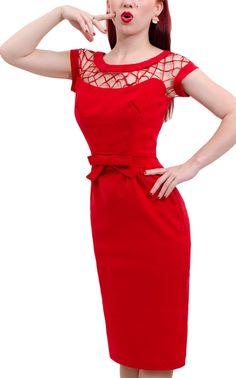 Pretty Dress Clothing Store - Alika Pencil Dress - Red (http://www.prettydress.com.au/alika-pencil-dress-red/)
