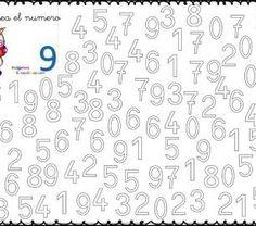 Fichas para trabajar coloreando los números 0 al 9 -Orientacion Andujar Letter Tracing Worksheets, Printable Alphabet Letters, Kids Math Worksheets, Tracing Letters, Activity Sheets For Kids, Kindergarten Math Activities, Fall Coloring Pages, Numbers Preschool, Math For Kids