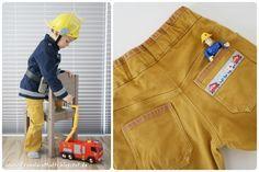 Feuerwehrmann Sam - Faschingskostüm für kleine Feuerwehrmänner.                                                                                                                                                                                 Mehr