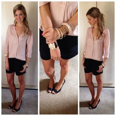 Shorts and wedges Wedges, Shorts, Stylish, Girls, How To Wear, Outfits, Fashion, Toddler Girls, Moda