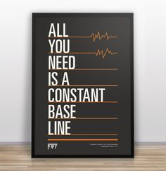 all you need is a constant base line