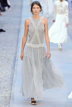 Indian influence had been simmering at Chanel even before their Fall/Winter 2012-2013 - this is from their Resort 2012 collection