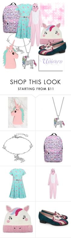 """""""Exciting Emojis - 🦄"""" by capricandycorn ❤ liked on Polyvore featuring LC Lauren Conrad, H&M, Joules and Minna Parikka"""