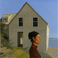 BARTLETT Bo - American realist (° 1955) ~ Clairvoyance Human Painting, Painting People, Figure Painting, American Realism, American Artists, Portraits, Portrait Art, Bo Bartlett, Magic Realism