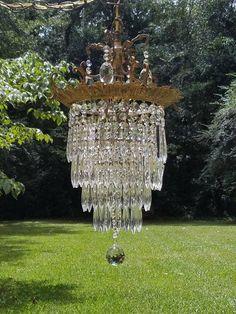 Antique Crystal Chandelier Crystal Wedding Cake Chandelier
