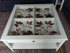 Ikea Glass Coffee Table, Coffee Tables, Dyi Crafts, Crafts To Make, Centre Table Living Room, Room Goals, Crafty Projects, Room Decor Bedroom, Decoration