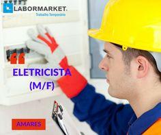 #labormarketofertaseletricista Funções:  Instalações elétricas entre outras funções inerentes à categoria profissional Requisitos:  Experiência na função mínima de 2 anos candidaturas@labormarket.pt