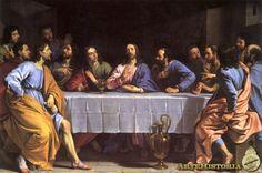 CHAMPAIGNE. La Última Cena. 1652.