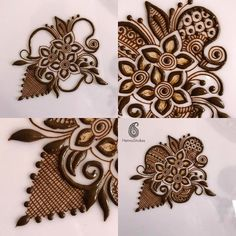 new henna pattern and pictures Basic Mehndi Designs, Henna Art Designs, Stylish Mehndi Designs, Mehndi Designs For Fingers, Mehndi Design Pictures, Latest Mehndi Designs, Bridal Mehndi Designs, Mehndi Images, Mehandi Designs