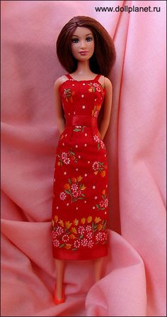 "pretty sundress, free sewing pattern ""To [skachat]"" press for link to the pattern in a zip file"