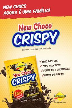 Banner de Lançamento New Choco Crispy - Lowçucar