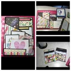 National Scrapbook Day 2016 Insert #10 created by crafter  Laurie Faragher.
