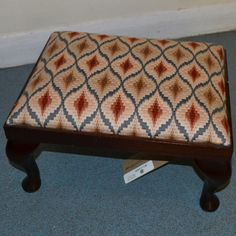 vintageFootstall500x500 Ottoman, Blanket, Chair, Bed, Furniture, Home Decor, Decoration Home, Stream Bed, Room Decor