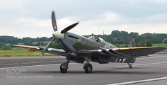 Supermarine Spitfire by Transportation Photography Fighter Aircraft, Fighter Jets, Supermarine Spitfire, The Spitfires, Royal Air Force, War Machine, World War Two, Wwii, Transportation