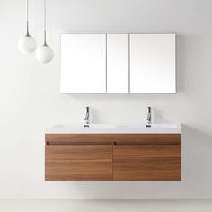 Photos On Zuri Double Floating Bathroom Vanity Set