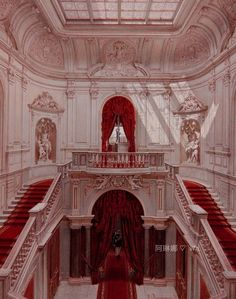 Nature Architecture, Baroque Architecture, Beautiful Architecture, Beautiful Buildings, Interior Architecture, Interior And Exterior, Beautiful Places, Interior Design, Palace Interior