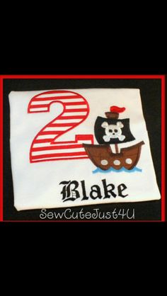 Pirate Birthday Shirts