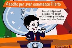 Renzi assolto per aver commesso il fatto