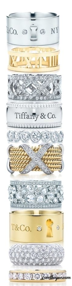 Tiffany Rings. Lets take them all!  TG