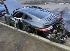 #FridayFAIL: Mechanic Crashes a #Porsche 911 Turbo Crash in Russia #cars #sportscars #fail #supercars #carcrashes #exotics More from Friday FAIL >> http://www.motoringexposure.com/trending/