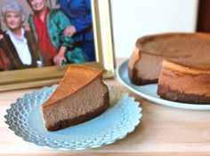 The Golden Girls Double Fudge Amaretto Ricotta Cheesecake.  Was watching an episode of The Golden Girls and this cheesecake was mentioned. I had to find the recipe!