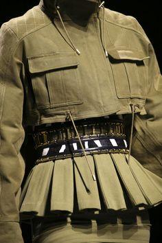 Balmain Army PFW A/H 2014 2015