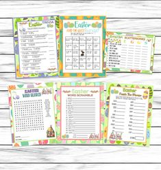 Easter Games, Easter Party Games, Trivia , Scattergories, Word Search, Easter Dinner Games, Easter Printable Games, Instant Download Easter Party Games, Hen Party Games, Easter Emoji, Valentine's Day Emoji, Video Game Logos, Dinner Games, Emoji Games, Easter Printables, Party Activities