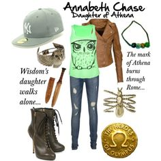 Annabeth Chase outfit. So cute!