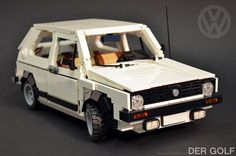 LEGO VW Golf mk1 by HP Mohnroth