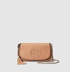 Gucci - soho python shoulder bag