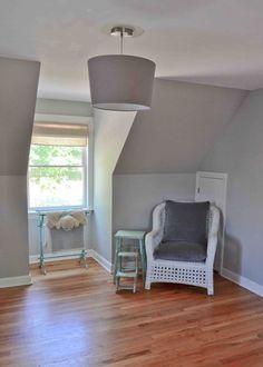 Little Inspirations: Gray Paint Colors.  Benjamin Moore Stonington Gray