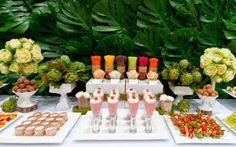 Roberta Giovaneli: Festa com alimentos funcionais !  Healthy Food Party Ideas