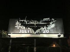 The Dark Knight Rises billboard