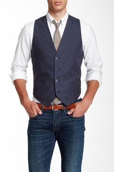 Bower Pinstripe Vest by Tommy Hilfiger on @HauteLook