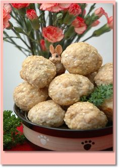 Little Eataly Meatballs ~ A delicious meatball recipe for dogs!