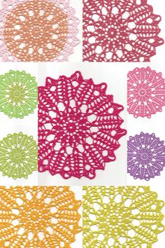 Linen Crochet Doily Christmas Gift Table decoration by DoilyWorld, £4.00