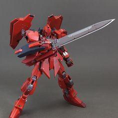 GUNDAM GUY: HG 1/144 Hyaku Shiki Type-δ - Custom Build