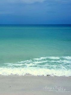 DIY Beach Painting - My Inspiration Florida - artsychicksrule
