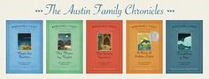 Austin Family Chronicles, 2008 reissue covers.