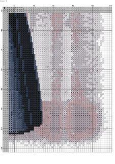 los gráficos del gato: DAMA ELEGANTE Elegant Woman, Cross Stitch Patterns, Fancy, Libra, Stitching, Graphics, Punto Croce, Girls Girls Girls, Projects