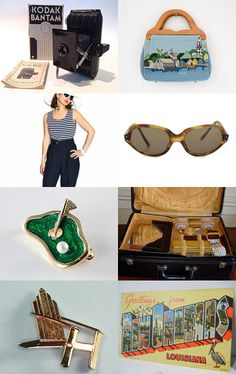 Wish You Were Here! - A Vintage Vogue Treasury by Michele on Etsy-- Pinned with TreasuryPin.com